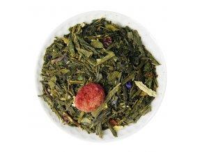 Zelený čaj cherry