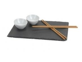 Sada na servírovanie sushi - bridlica