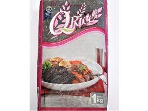 Ryža jazmínová čierna Q rice 1kg