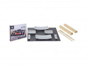 Sada na servírovanie sushi - bridlica pro 2 osoby