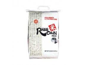 Guľatá biela ryža na sushi s dobrou lepivosťu.o