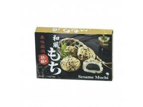 Ryžové koláčiky Mochi - sezam