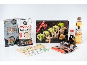 Štartovací set na prípravu sushi