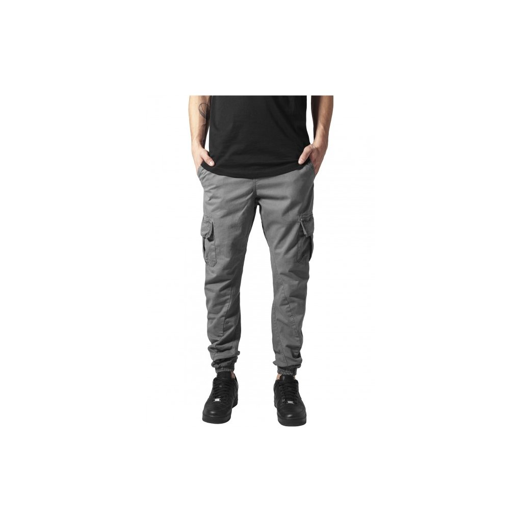urban classics cargo jogging pants darkgrey 28899