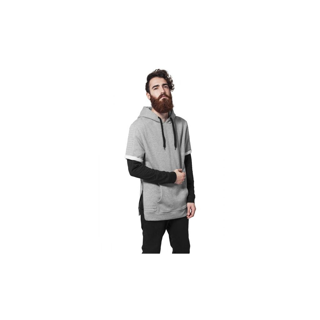 urban classics short sleeve side zipped hoody grygry 28654.thumb 600x600