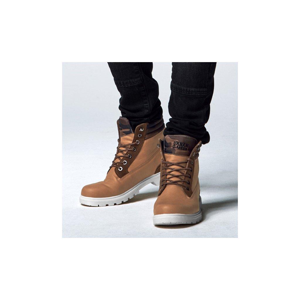 urban classics winter boots beigewoodcamo 28953