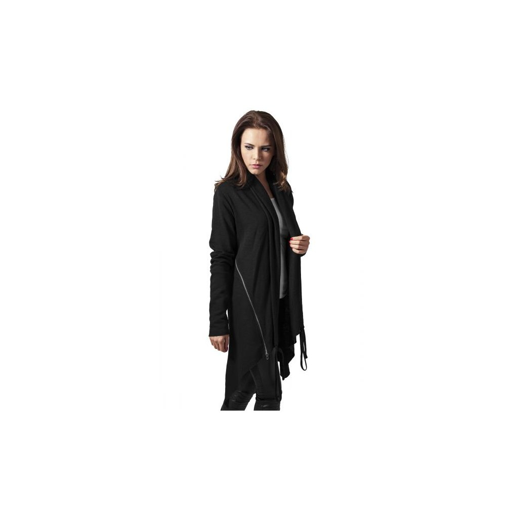 urban classics ladies terry cardigan black 28800.thumb 600x600