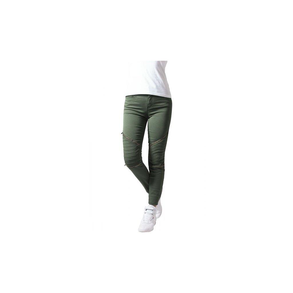 urban classics ladies stretch biker pants olive 28805.thumb 600x600