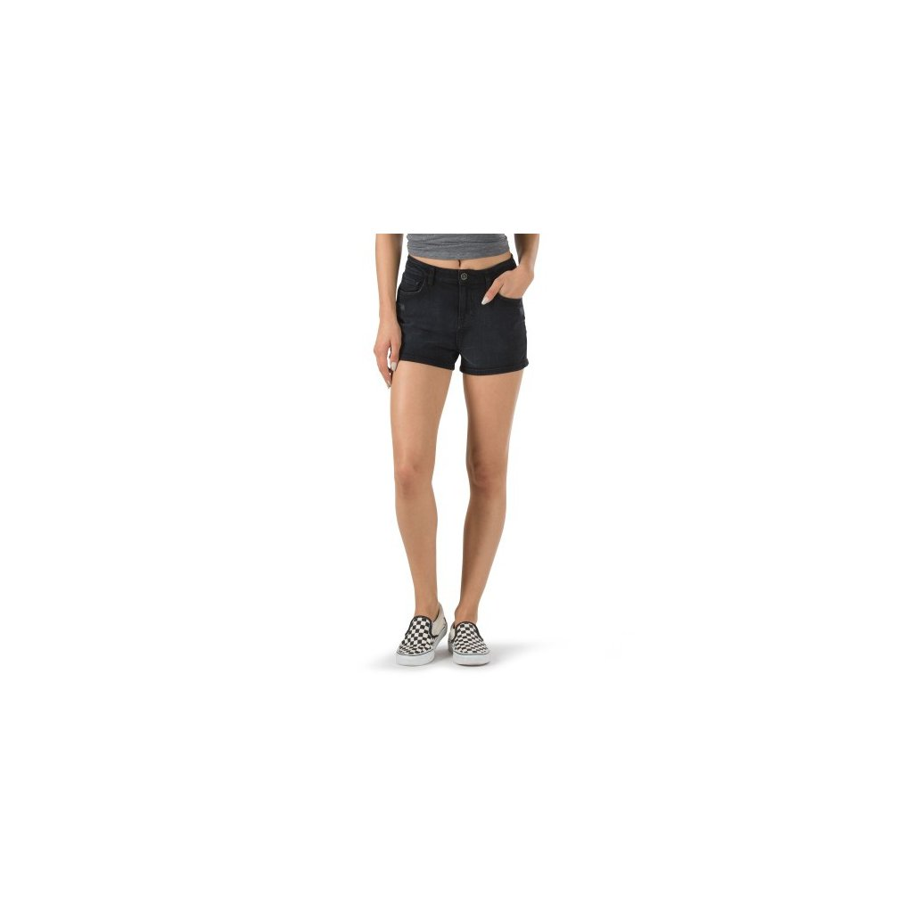 vans sortky high rise short black default