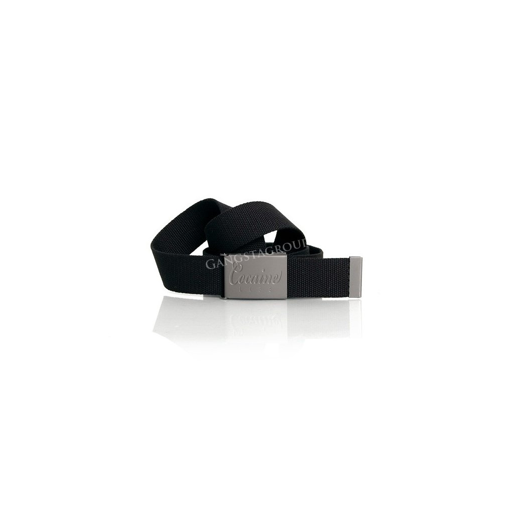 Cocaine Life Basic Logo Belt Black - UNI