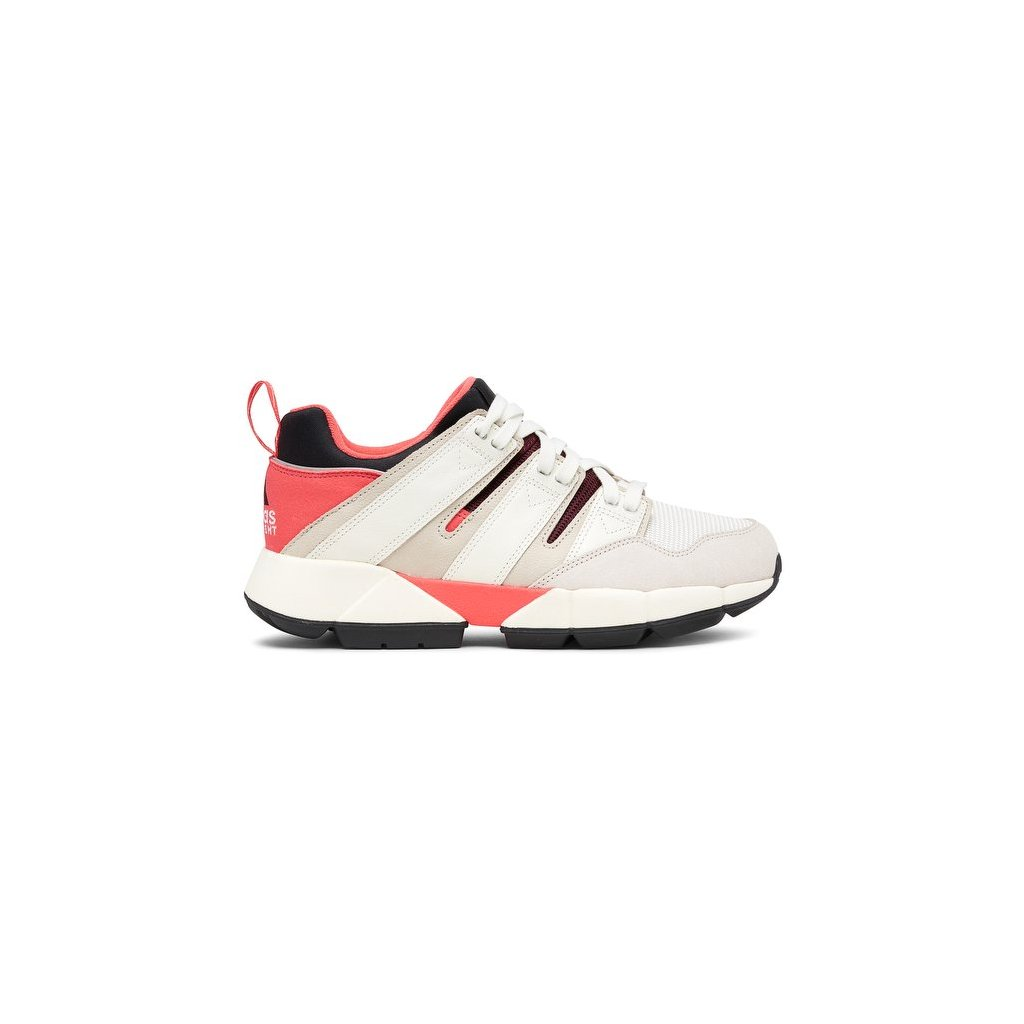 sneakers adidas originals equipment cushion 2 shocked red off white clear brown 182356 674 1
