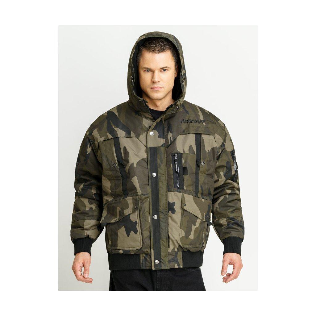 amstaff conex winterjacke 20 camouflage