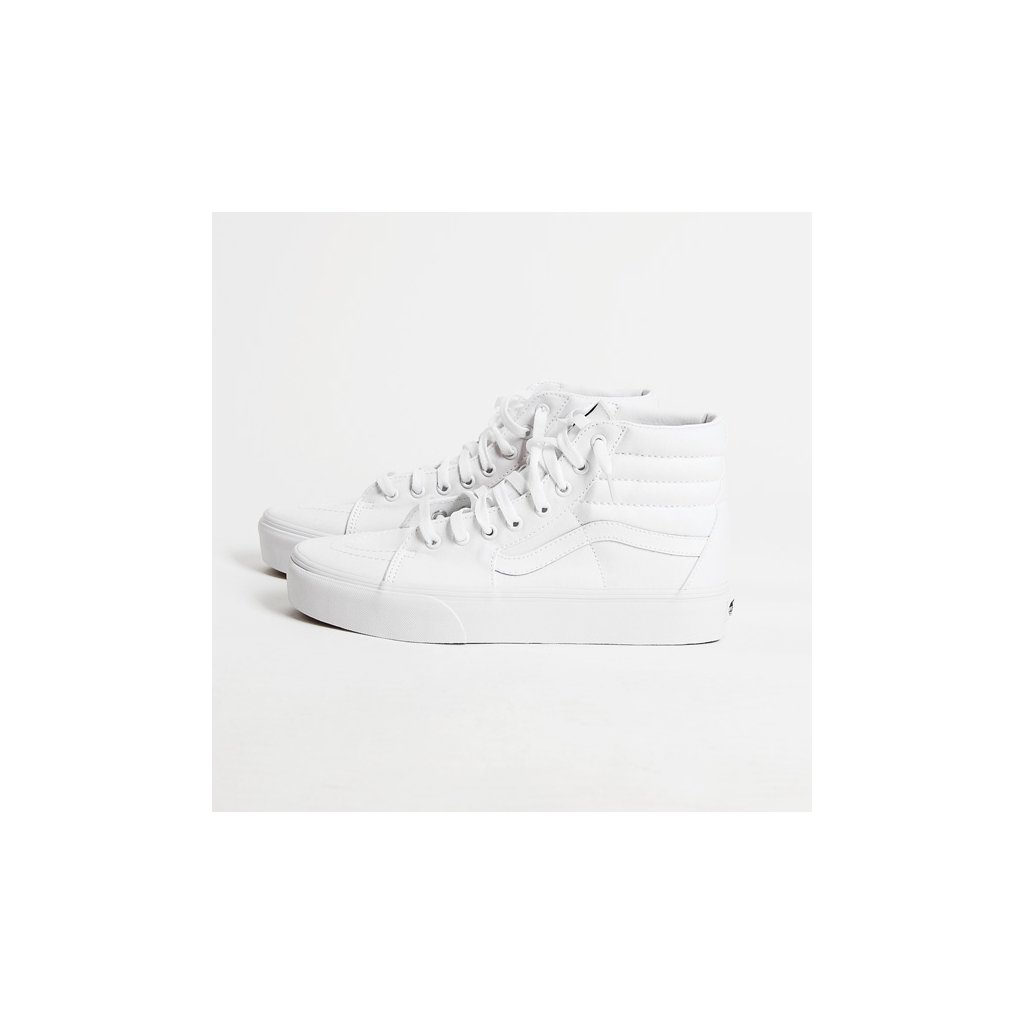 vans ua sk8 hi platform 2.0 true whitetrue white 78992