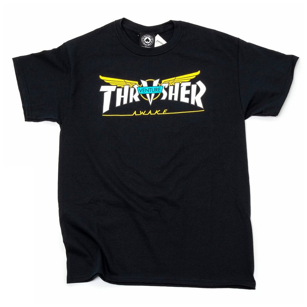 rd March20ThrasherVentureCollabTshirtBlack1