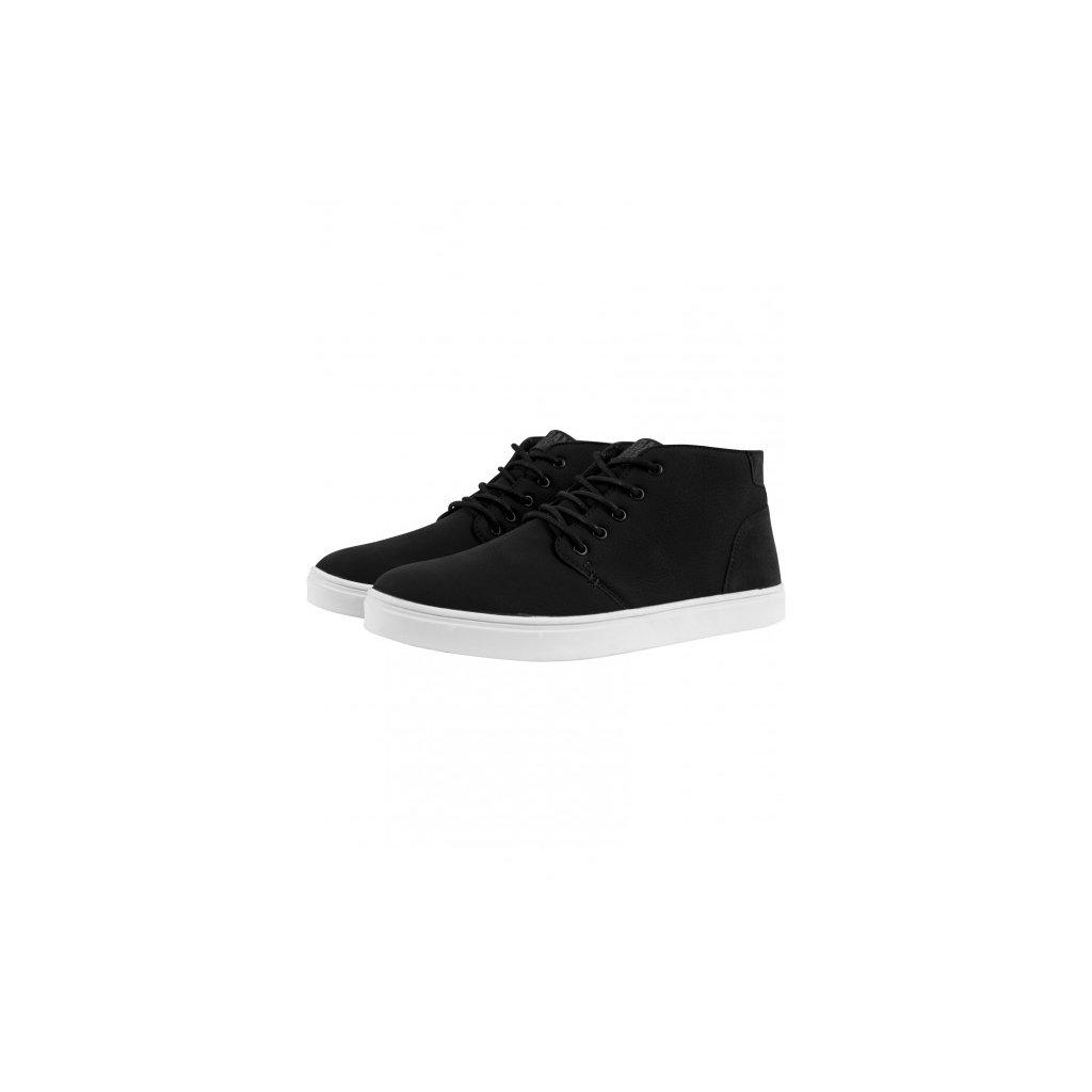 urban classics hibi mid shoe blkwht 28950