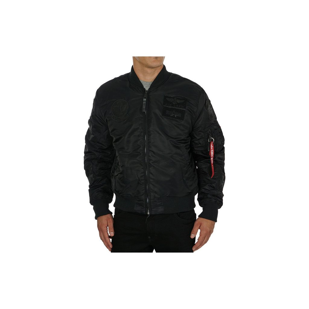 alpha industries ma 1 pilot black 119464