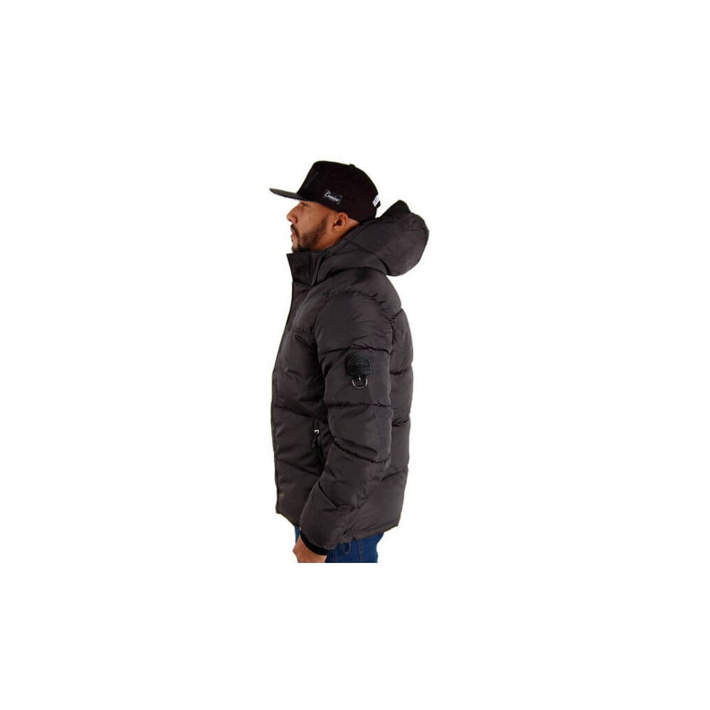 Pánska bunda Southpole Outwear Winter Jacket Dark Slate