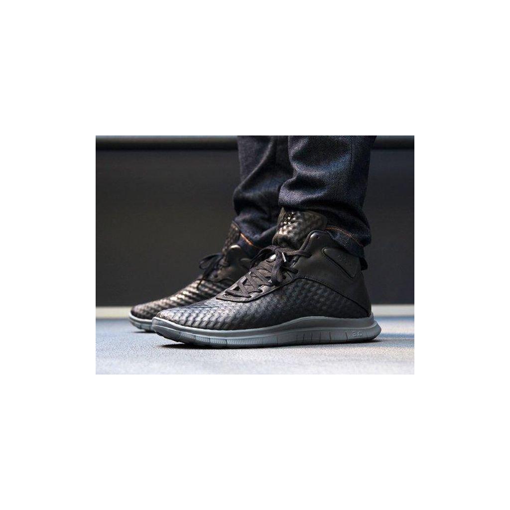 afew store sneaker nike free hypervenom mid black black darkgrey 12