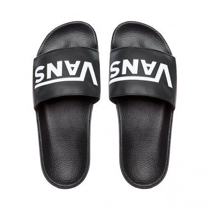 vans mn slide on vans black 53909