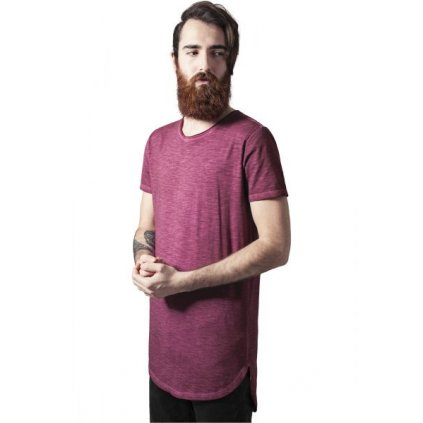 urban classics long back shaped spray dye tee burgundy 28845.thumb 600x600