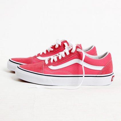 vans ua old skool strawberry pink 61092