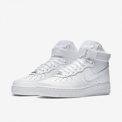 nike air force 1 high 08 le womens shoe white 63370