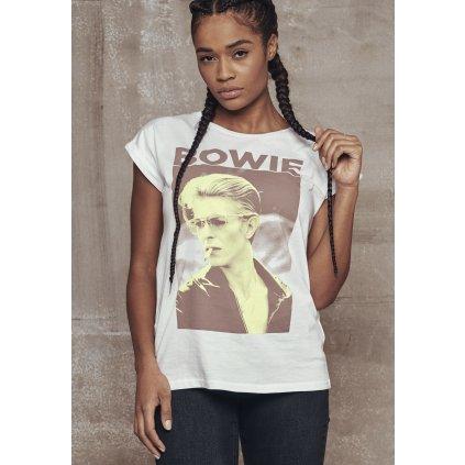 Dámske tričko MR.TEE Ladies David Bowie Tee