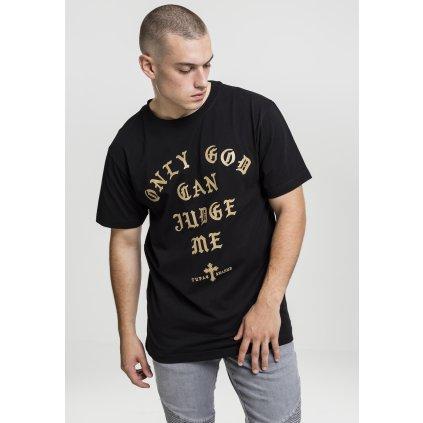 Pánske tričko 2Pac Judge Tee black