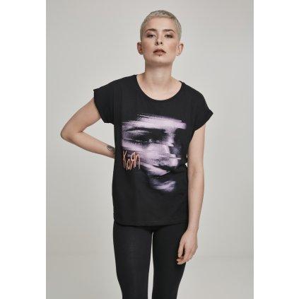 Dámske tričko MERCHCODE Ladies Korn Face Tee