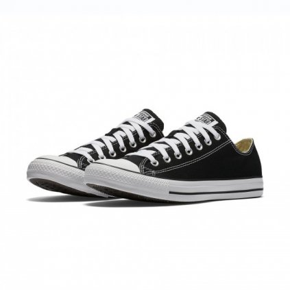 converse chuck taylor all star canvas low top m9166c black 64225