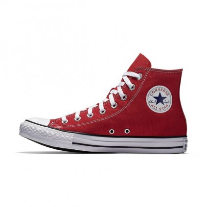 converse chuck taylor all star canvas high top m9621c red 64280