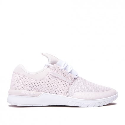 Unisex Tenisky Supra Flow Run Light Pink White