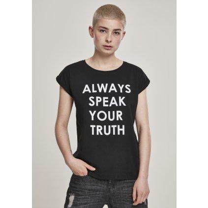 Dámske tričko MR.TEE Ladies Speak Truth Tee