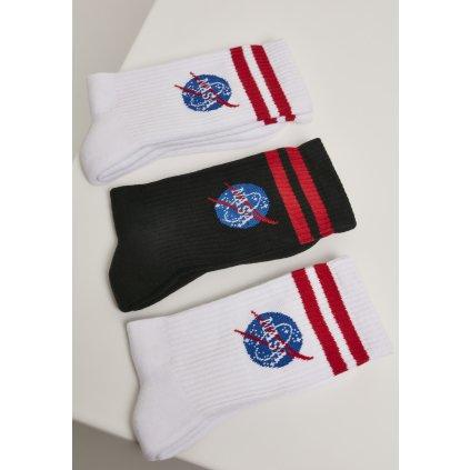 Pánske ponožky MR.TEE NASA Insignia Socks 3-Pack