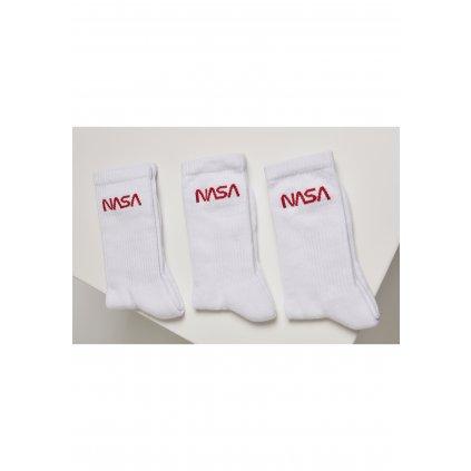 Pánske ponožky MR.TEE NASA Worm Logo Socks 3-Pack