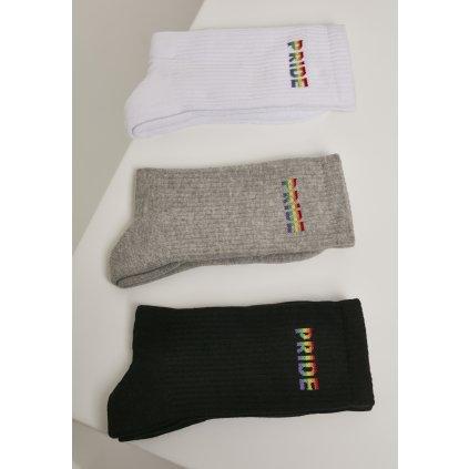 Pánske ponožky MR.TEE Pride Socks 3-Pack