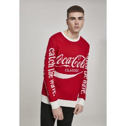 Pánsky sveter MERCHCODE Coca Cola Xmas Sweater
