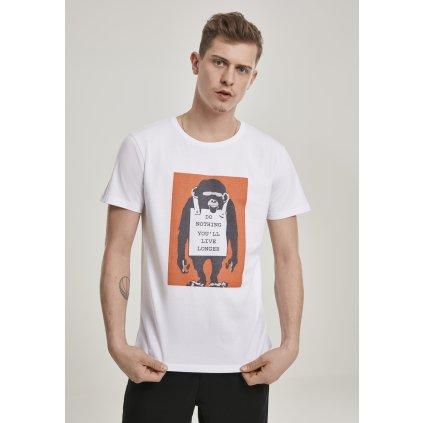 Pánske tričko Merchcode Banksy Do Nothing Tee