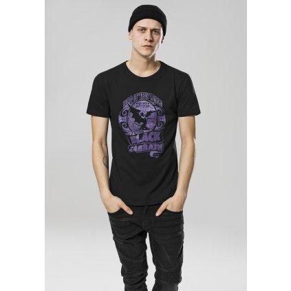 Pánske tričko MERCHCODE Black Sabbath LOTW purple Tee