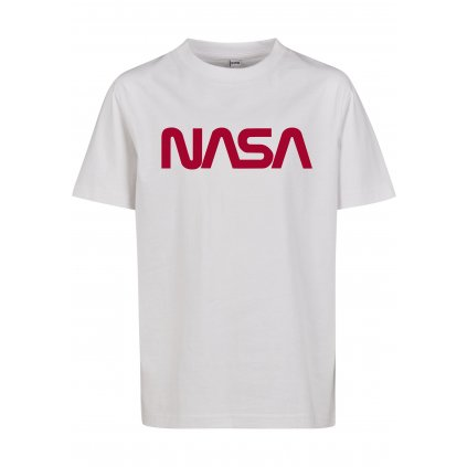 Detské tričko MR.TEE Kids NASA Worm Logo Tee