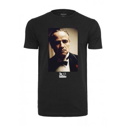 Pánske tričko MERCHCODE Godfather Portrait Tee