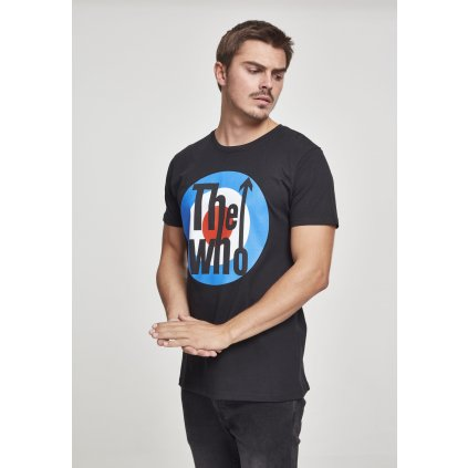 Pánske tričko MERCHCODE The Who Classic Target Tee