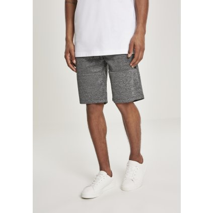 Pánske teplákové kraťasy SOUTHPOLE Zipper Pocket Marled Tech Fleece Shorts