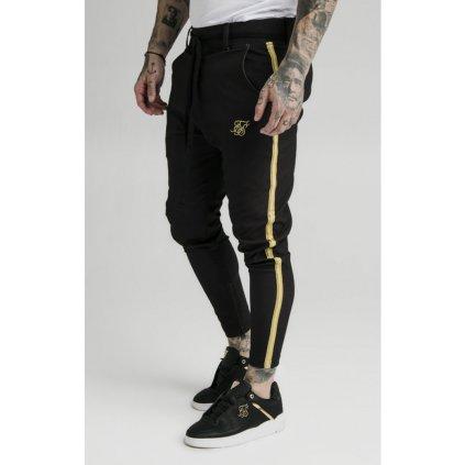 siksilk fitted smart tape jogger pant black p3502 29575 medium