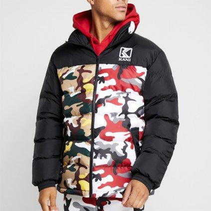 jacket karl kani retro camo puffer jacket camo 70179