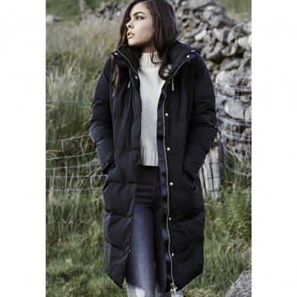 URBAN CLASSICS LADIES BUBBLE COAT BLACK (Veľkosť XS)
