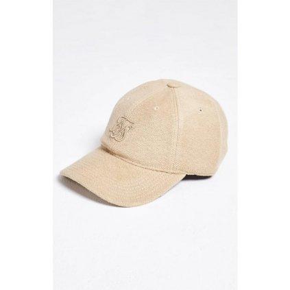 siksilk x starter flannel bent peak cap sand p1530 13467 medium