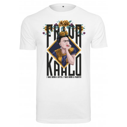 Dámske tričko MERCHCODE Ladies Frida Kahlo Born Tee