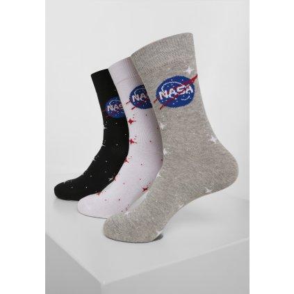 Ponožky MR.TEE NASA Insignia Socks 3-Pack