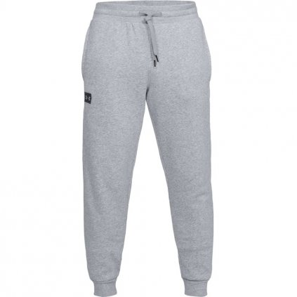 Pánske tepláky Under Armour Rival Fleece Jogger Gry Steel Light Heather